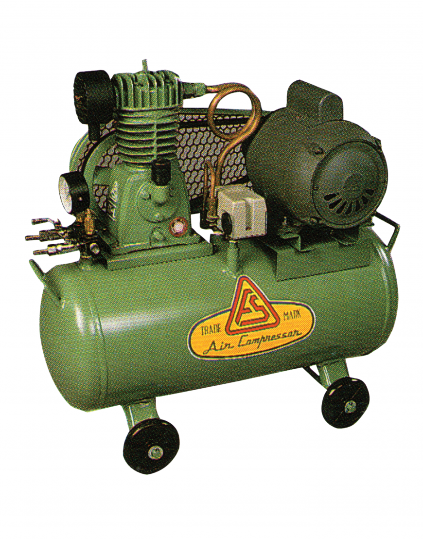 ปั๊มลมแบบลูกสูบ D1-60L